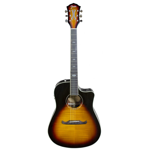 Fender T-Bucket 300CE Westerngitarre 3-Color Sunburst
