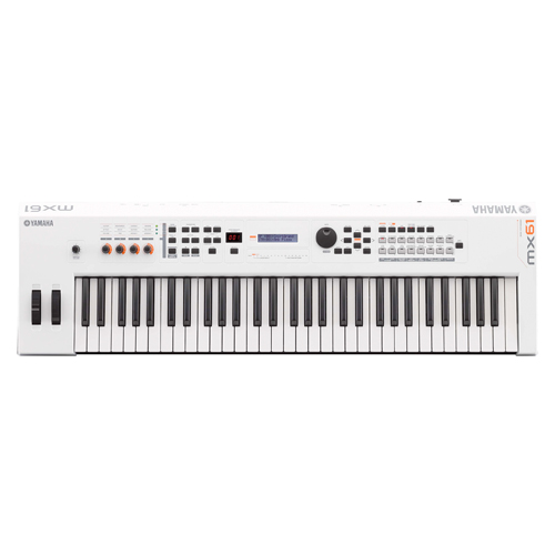 Yamaha MX61II WH Synthesizer White limited