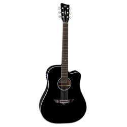 VGS RT-10CE Dreadnought Root Black