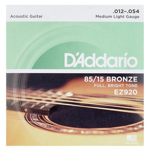Daddario EZ-920 Westerngitarren Saiten Satz