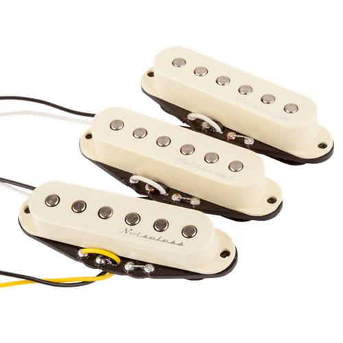 Fender Hot Noiseless Strat Single Coil Pickup Set