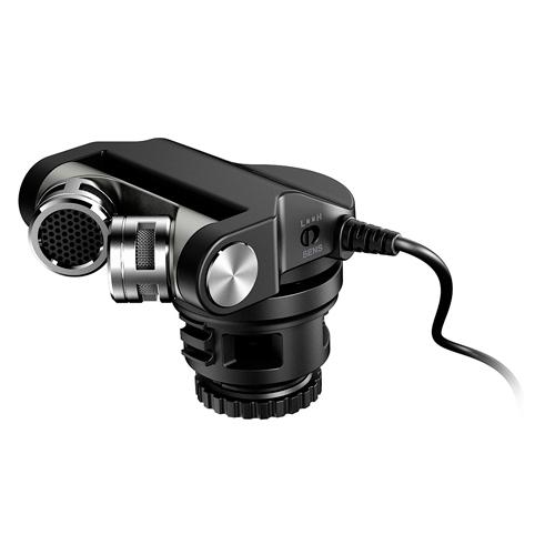 Tascam TM-2X Hochwertiges Mikrofon für Digitalkameras
