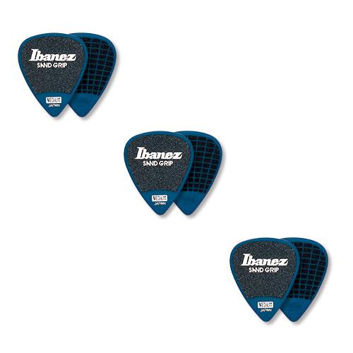 Ibanez PPA14HSG-DB Sand Grip 6er Pack blau
