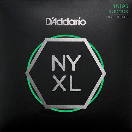 Daddario NYXL4095 Nickelplated Steel Super Light