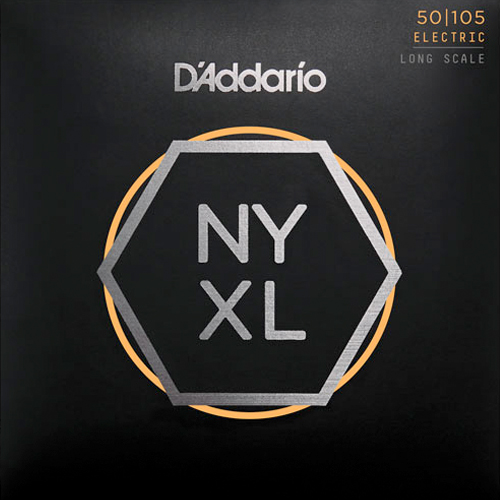 D'Addario NYXL50105 Nickelplated Steel Medium