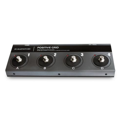 Positive Grid BT4 Bluetooth MIDI 4-fach Fußschalter