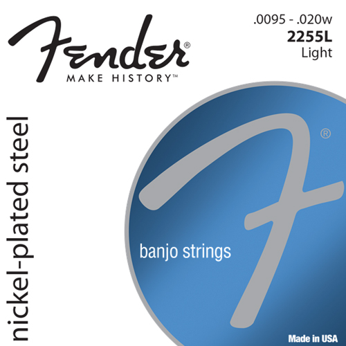 Fender 2255L Nickel-Plated Steel Banjo Saiten