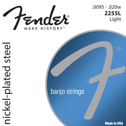 Fender 2255L Nickel-Plated Steel Banjo Saiten