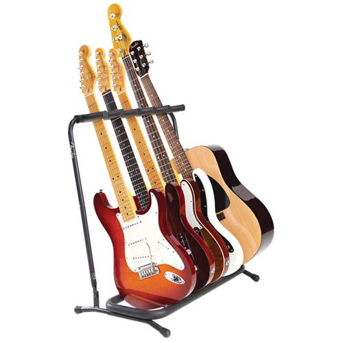 Fender 5-fach Ständer für Gitarren und Bässe