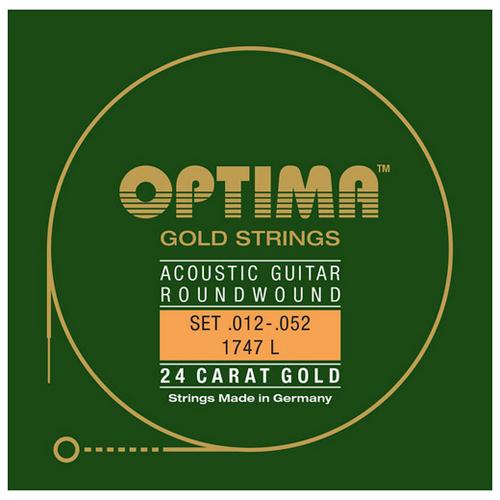Optima 1747L Saiten für Akustikgitarre .012-.052