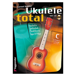 Ukulele Total C-Stimmung - Roedder, Gernot