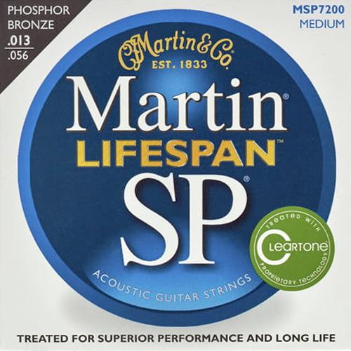 Martin MSP-7200 Lifespan Westerngitarrensaiten 013-056