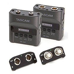 Tascam DR-10CL Aufsteckrecorder für Lectrosonics Lavalier-Mikrofone