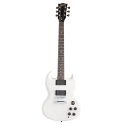 Gibson 2013 SGJ Rubbed White Satin Lefthand