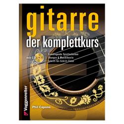 Gitarre. Der Komplettkurs inkl. CD - Capone, Phil