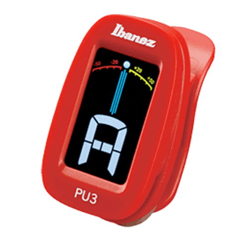 Ibanez PU3-RD Clip On Tuner