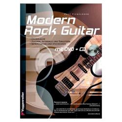 Modern Rock Guitar inkl. DVD, CD - Fiebelkorn, Ralf