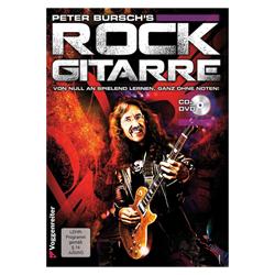 Rock Gitarre für Anfänger inkl. DVD, CD - Bursch, Peter