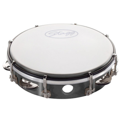 Stagg TAB-108P/BK Kunststoff Tambourin 8""