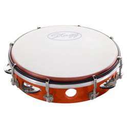 Stagg TAB-108P/RD Kunststoff Tambourin 8""
