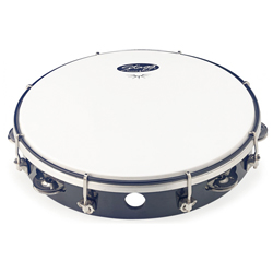 Stagg TAB-110P/BK Kunststoff Tambourin 10""