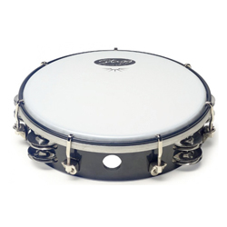 Stagg TAB-208P/BK Kunststoff Tambourin 8""