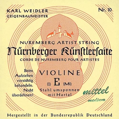 Nürnberger Violine Einzelsaite D 1/2
