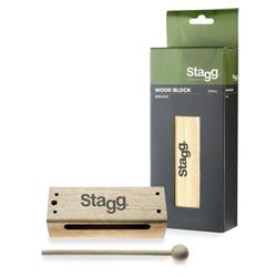 Stagg WB326S Woodblock mit Schlegel Klein