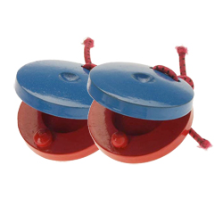 Stagg CAS-P Kunststoff Kastagnetten Paar