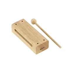 Nino NINO21 Holzblock mit Schlegel Medium