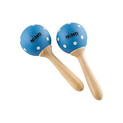 Nino NINO7PD-B Holz Maracas Blau