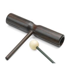 Rohema 61411 Röhren-Trommel mit Haltestab Palisander