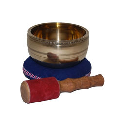 Lugert 701672 Klangschale mit Ornamenten 14,5 cm
