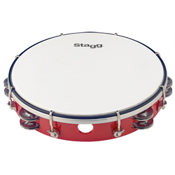 Stagg TAB-210PRD Kunststoff Tambourin 10""