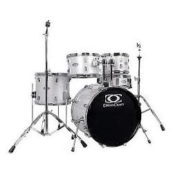 DrumCraft Serie 3 20 Fusion White Noise Sparkle