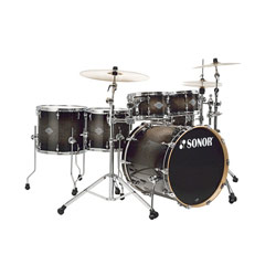 Sonor Select Force Sets S Drive Drumset Transparent Black Burst