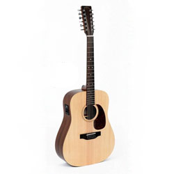 Sigma DM12E 12-string Westerngitarre