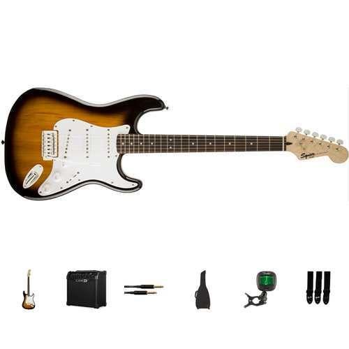Squier E-Gitarren Bundle - Bullet Stratocaster BSB