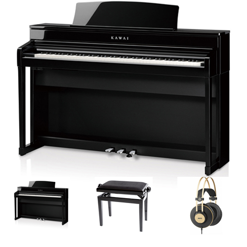Kawai CA-79 EP Digitalpiano Set / Bundle inkl.Aufbau