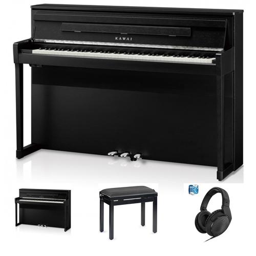 Kawai CA-99 B Digitalpiano Set / Bundle inkl. Aufbau