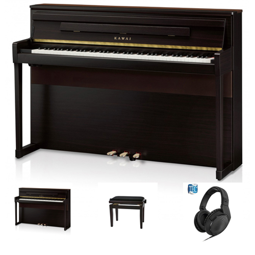 Kawai CA-99 RW Digitalpiano Set / Bundle inkl. Aufbau