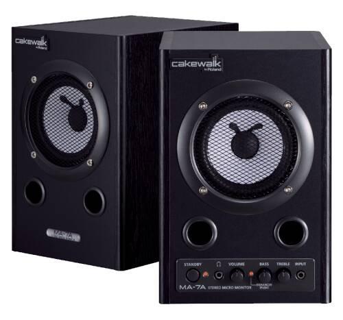 Cakewalk MA-7ABK Stereo Micro Monitor schwarz