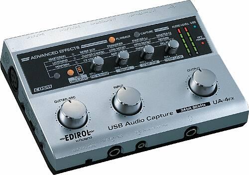 Cakewalk UA-4FX USB2.0 Soundkarte