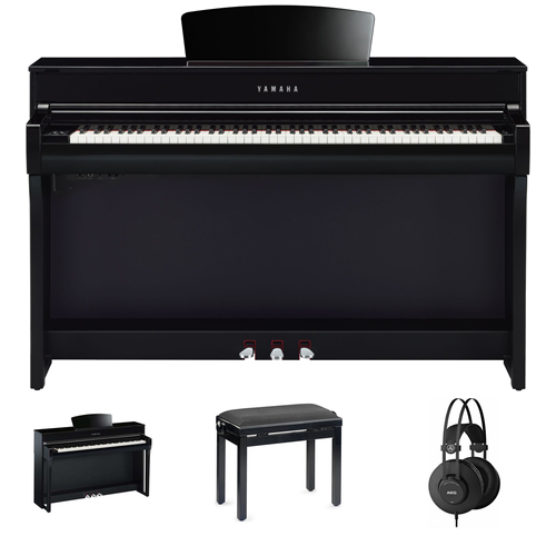 Yamaha CLP-735 PE Digitalpiano Set/Bundle