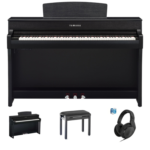 Yamaha CLP-745 B Digitalpiano Set/Bundle