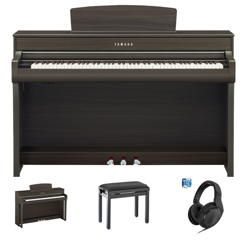 Yamaha CLP-745 DW Digitalpiano Set/Bundle