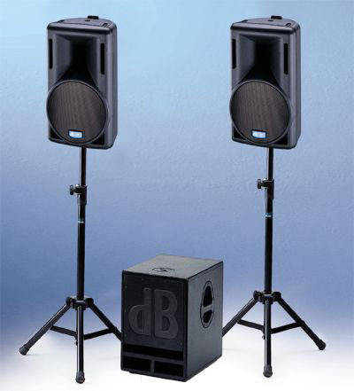 dB Technologies Entertainer System M-500