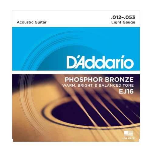 D'Addario EJ16-3D Set Akustik Saiten 012 - 053