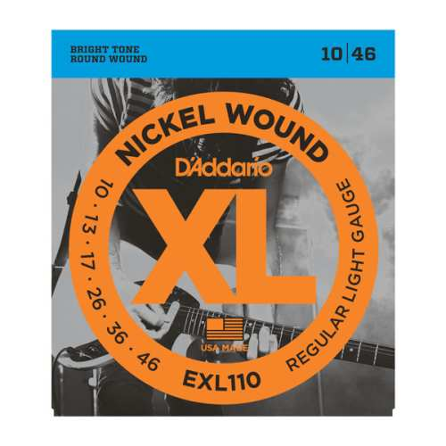 D'Addario EXL-110 Nickel E-Gitarren Saiten 010-046