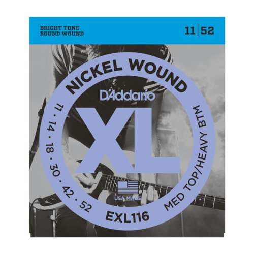 D'Addario EXL-116 Nickel E-Gitarren Saiten 011-052